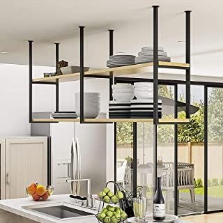 Amazon Com Ceiling Mounted Storage Racks High Kay Electronic Firms Ceiling Mounted Stor Tools Home Improvement