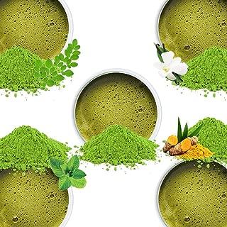 VAHDAM, Matcha Green Tea Sampler - 5 Teas | 100% Pure Japanese Origin Matcha Tea Powder |137x Anti-OXIDANTS |Energy, Focus & Metabolism Booster | Green Tea for Weight Loss | Japan's Super Food