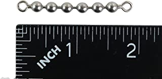 River Guide Supply #10 SS Bead Chain Swivel 6 Ball 100 lb Test Pack