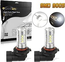 Partsam 2Pcs 9005 9145 HB3 16 Seoul 3030 SMD LED HB3 XENON WHITE FOG LIGHT BULBS LAMP 80W