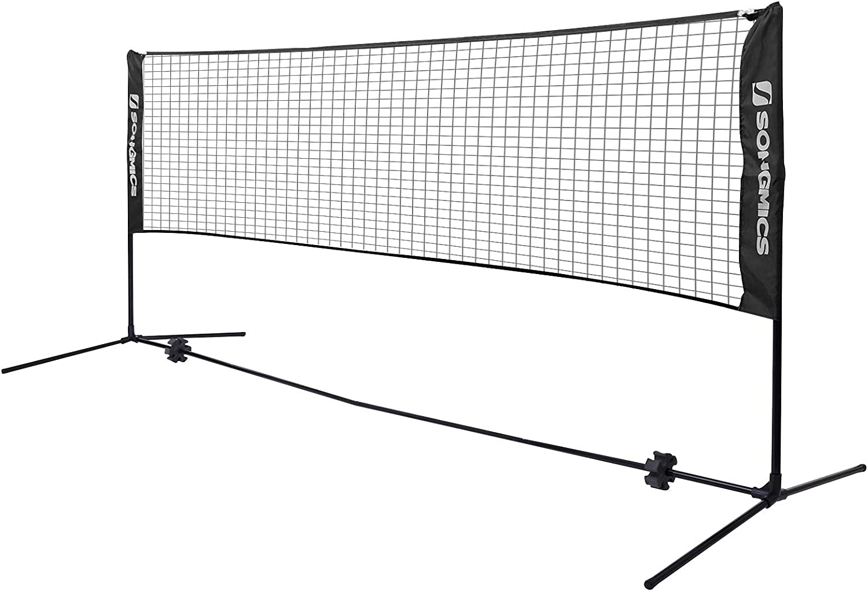 SONGMICS Free Shipping New Badminton Net shop Set T Portable for Sports