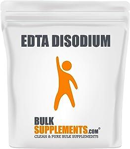 Bulksupplements.com EDTA Disodium Powder - Water Softener - Kidney Support - Liver Support (500 Grams)