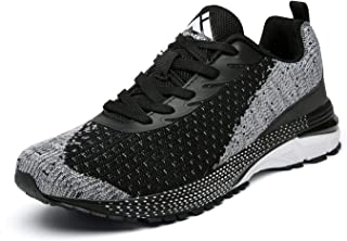 Mishansha Mens Trainers Running Shoes Mens Women Breathable Lightweight Outdoor Sports Shoes Sneakers Fitness and Jogging ...