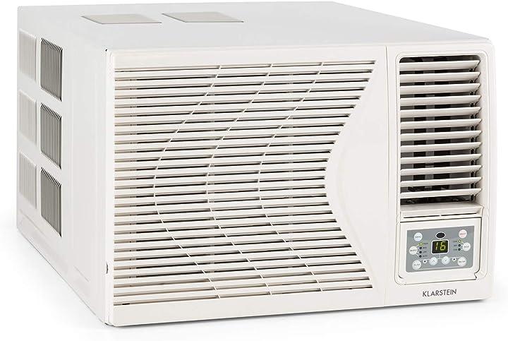 condizionatore da finestra klarstein frostik potenza compressore di raffreddamento: 9.000 btu/2 7 kw classe a b07qh6ybht