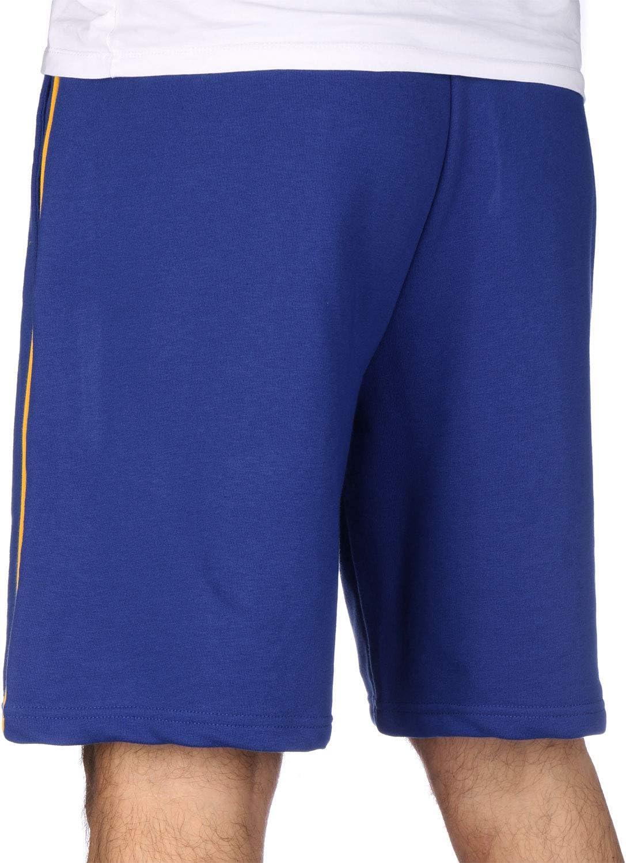 A NEW ERA NBA Stripe Piping Short Golwar - Short - Homme Bleu (Med Blue)
