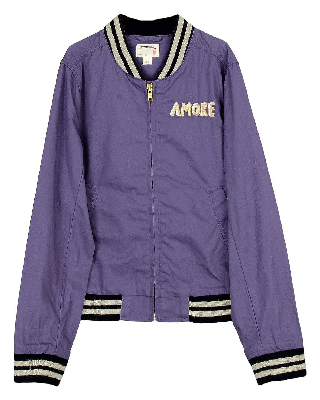 J Crew Crewcuts Girls ' BomberジャケットAmoreスタイル# c1029パープル新しいサイズ12
