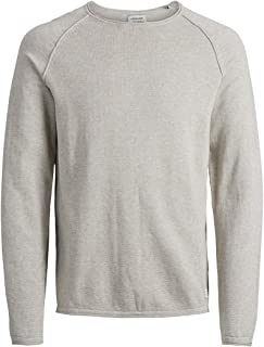 JACK & JONES Jjeunion Knit Crew Neck Noos Felpa Uomo