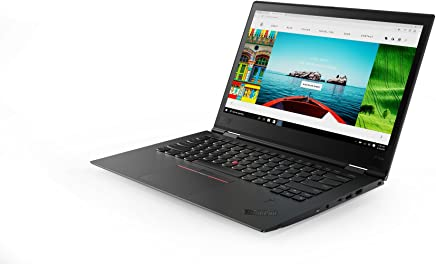 "Lenovo 14"" ThinkPad X1 Yoga 3rd Gen Touchscreen LCD 2 in 1 Ultrabook Intel Core i7 (8th Gen) i7-8550U Quad-core (4 Core) 1.8GHz 8GB LPDDR3 256GB SSD Windows 10 Pro 64-bit (English) Black, 20LD001KUS"