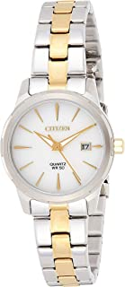 Citizen Women's Silver Dial Stainless Steel Band Watch