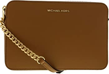 Michael Kors Jet Set Large Saffiano Leather Crossbody