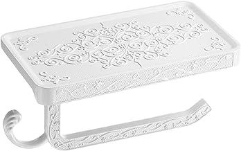 Tissue Box Holder Antiek Gesneden Zinklegering Badkamer Papieren Telefoonhouder Tissue Box