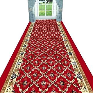 Non-Slip Carpet YANZHEN Hallway Runner Rugs Stain-Resistant Non-Slip No Shedding Blended Fiber Front Door Mat 7mm Thick, C...