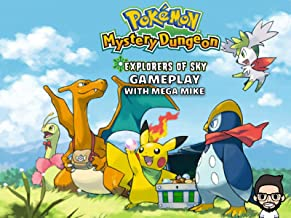 Pokemon Mystery Dungeon Explorers Of Sky Gameplay With Mega Mike