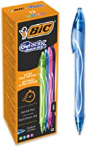 Bic Gel-ocity Quick Dry Gel Ink Pens - Assorted Colours, Box of 12