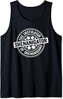 Shenanigator St Patrick's Day Shenanigans Instigator Tank Top
