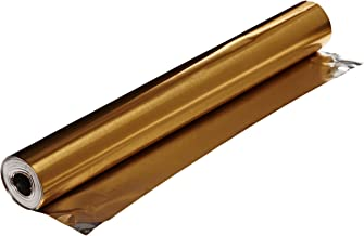 St Louis Crafts Colored Aluminum Foil - 12 Inches x 25 Feet - Gold
