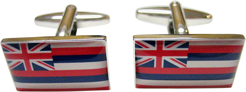 Hawaii State Flag Cufflinks