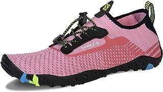 WateLves Chaussures Aquatique pour Femme et Homme pour Sport Aquatique Piscine et Plage Surf Plongée Natation