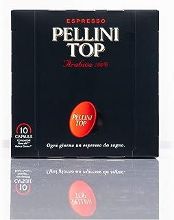 Pellini Caffè, Espresso Pellini Top, Compatibles Nescafé Dolce Gusto - Pack de 6 étuis (au total 60 capsules)
