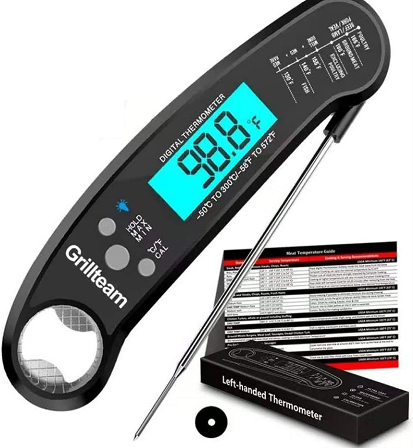 IP67 Waterproof Instant Sacramento online shopping Mall Read Thermometer Meat Digital Therm BBQ