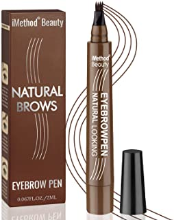 Eyebrow Tattoo Pen - iMethod Upgrade Microblading Eyebrow Pen, Eyebrow Makeup, Long Lasting, Waterproof and Smudge-proof, ...