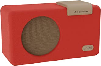 SMPL One-Touch Music Player, Audiobooks + MP3, Quality-Sound, Durable Wooden Encloser with Retro Look, 4GB USB with 40 Nos... photo