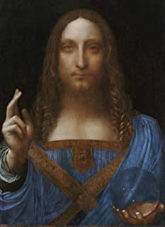Odsan Gallery Canvas Prints - Salvator Mundi by Leonardo da Vinci - Unframed - 12