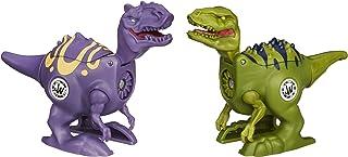 Jurassic World Brawlasaurs Velociraptor vs. Allosaurus Figure Pack