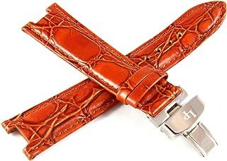 Lucien Piccard 20MM Alligator Grain Leather Watch Strap 7.5