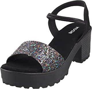 Mochi Women Synthetic Sandals (33-197)