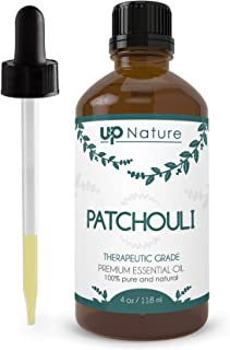 Patchouli Essential Oil - Great Beard Oil - Boosts Immune System, Reduces Inflammation, Enhances Mood - Pure, Unrefined, Non-GMO - Treats Dandruff & Itchy Scalp - With Dropper (4 oz.) by UpNature