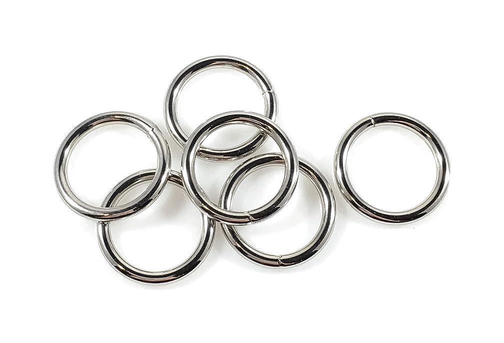 Steel Rings Welded Nickel Plate 3/4
