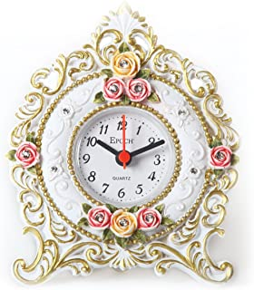 Maple's FL92 Floral Table Clock