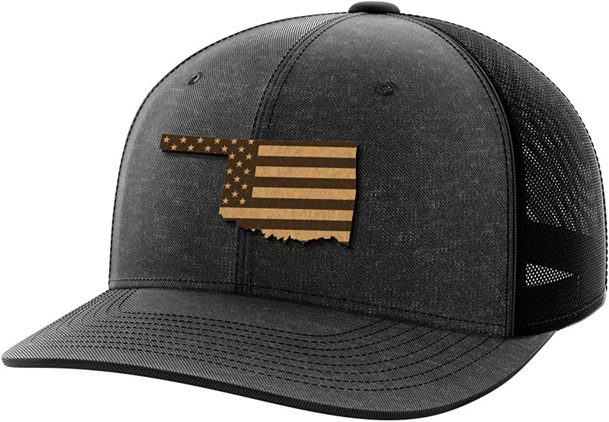 Oklahoma United Leather Patch Hat