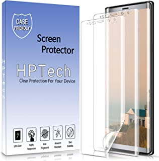 HPTech Galaxy Note 9 Screen Protector - [2-Pack] for Samsung Galaxy Note 9 [Full Coverage] Screen Protector Film HD Clear ...