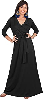 black full length gowns with sleeves