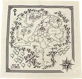 Legend Of Zeld Map Of Hyrule Tea Towel Set Of 2