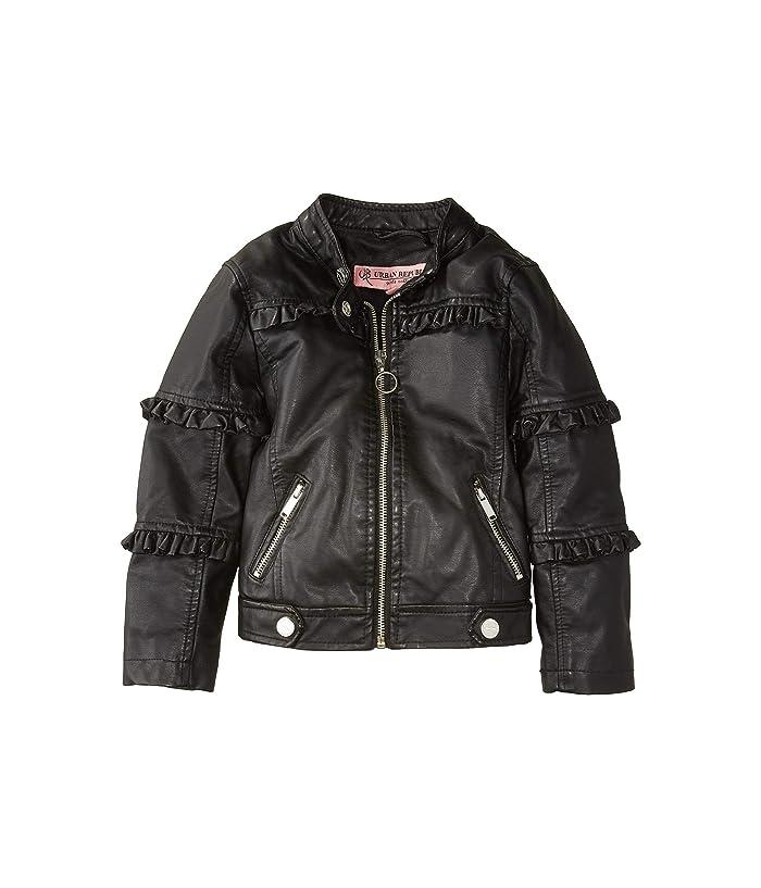Urban Republic Kids Bella Faux Leather Ruffle Jacket (Little Kids/Big Kids)