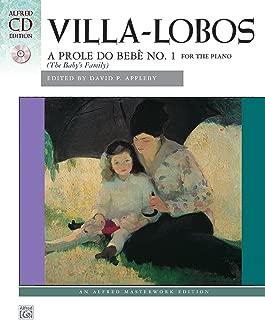 Villa-Lobos -- A prole do bebe, no. 1: Book & CD (Alfred Masterwork CD Edition)