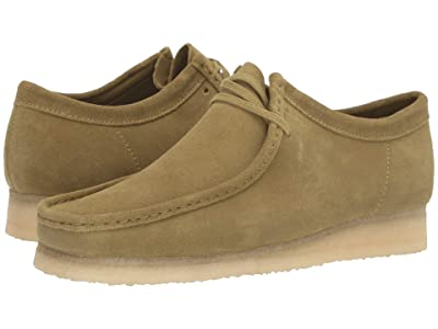 Clarks Wallabee Boot (Khaki Suede) Men