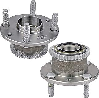 Bodeman - Pair 2 Rear Wheel Hub & Bearing Assembly for 1994-2003 Ford Escort/ 1992-1995 Mazada MX-3/1995-1999 Protege/ 1994-1999 Mercury Tracer