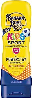 Banana Boat Kids Sport Tear-Free Sunscreen Spray, Kids Sport - SPF 50 - 6oz, Lotion