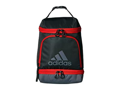adidas Excel Lunch Bag (Black/Active Red/Onix) Bags