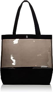 Volcom E6411950 - Bolso de tela para mujer Negro Negro unitario