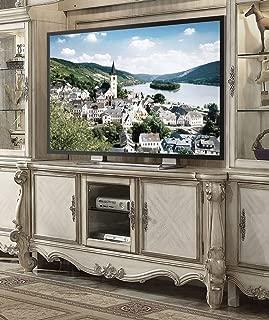 TV Stand in Bone White