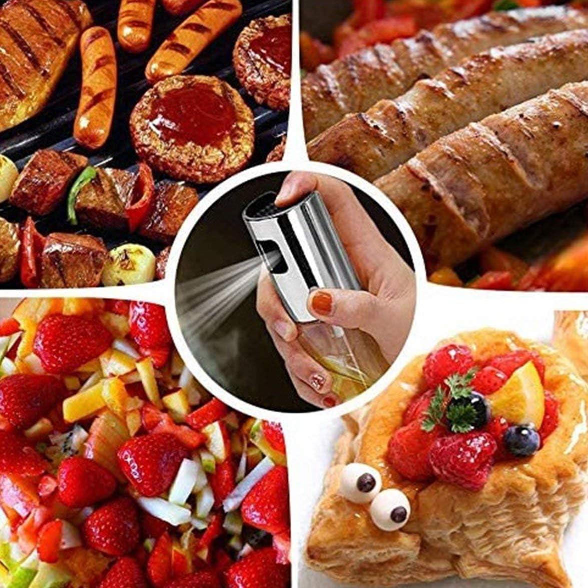 BBQ Backen Oliven/öl Spr/ühflasche /Öl Essig Spr/ühflaschen /Ölspender Kochwerkzeug Salat BBQ K/üchenger/äte