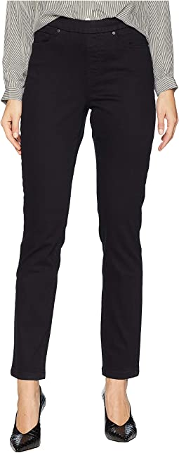 Pull-On Five-Pocket Twill Pants