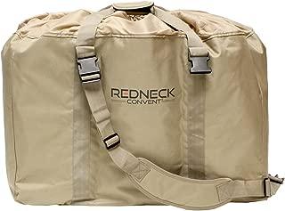 Redneck Convent Slotted Decoy Bag, 6 Slot Decoy Bag Drawstring Decoy Backpack 1-Pack for 6 Decoys, Goose Decoy Bags 1pk Hunting Gear Bag