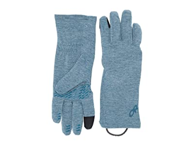 Outdoor Research Melody Sensor Gloves (Celestial Blue Heather) Ski Gloves