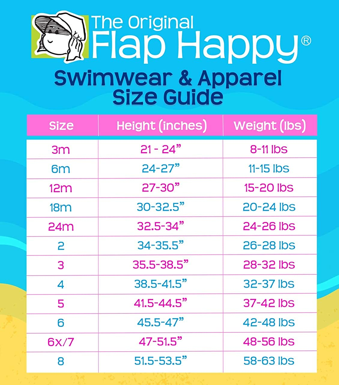 Flap Happy Girls Rash Guard Swimsuit